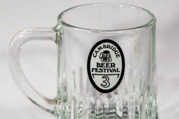 Half pint tankard from 3rd Cambridge Beer Festival