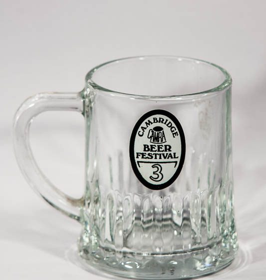 Half pint tankard from 3rd Cambridge Beer Festival