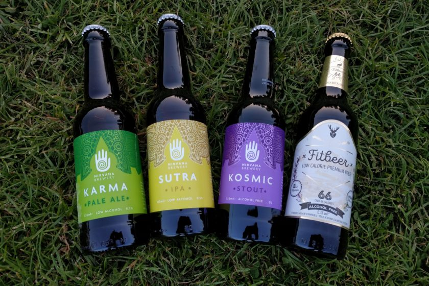 Low alcohol and alcohol-free beer bottles